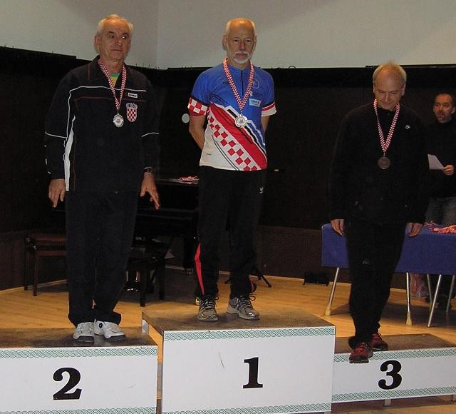 Željko Belaj, Kup Hrvatske 2015., M55, 2. mjesto